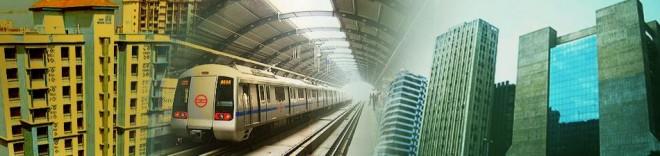 Urban development in India (a government picutre)