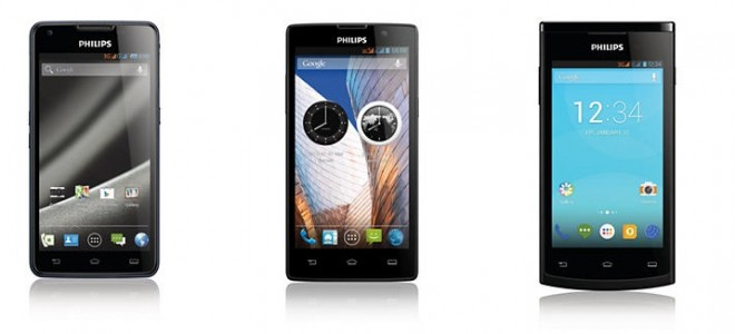 Philips Re-Enters Indian Mobile Market with Three New Android Phones