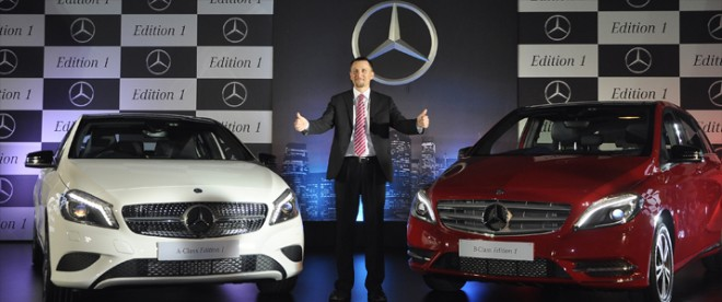 Mercedes-Benz A- Class and B -Class 'Edition 1' Launched in India; Price, Feature Details
