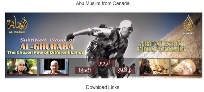 ISIS Video In Hindi and Tamil