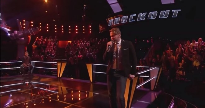 "Luke Wade and Taylor Phelan Perform on ""The Voice"" Season 7 Knockout Rounds 1"