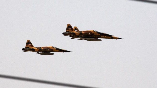 Reports claim that Iran has bombed ISIS in Iraq.