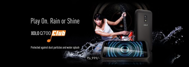 Xolo Launches Q700 Club For Rs. 6,999; Features Water and Dust-Resistant Body, Dual Speakers