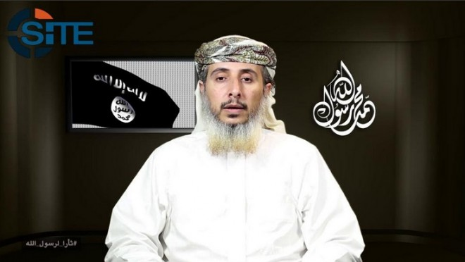 AQAP released a visual speech from Nasser bin Ali al-Ansi claiming credit for the Charlie Hebdo attack in Paris.