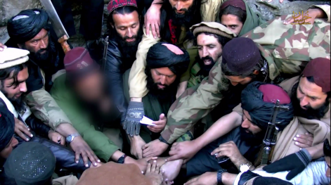 Several Afghan Taliban leaders reportedly had sworn allegiance to Islamic State