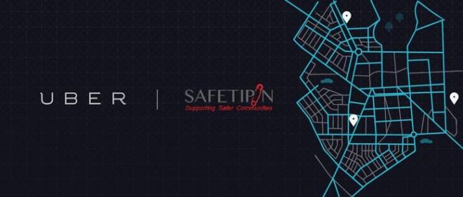 Uber-SafetiPin partnership