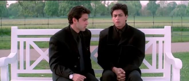 Hrithik Roshan, Shah Rukh Khan
