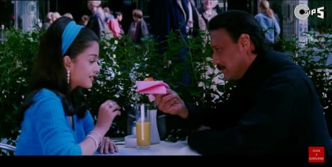 Aishwarya Rai Bachchan and Jackie Shroff