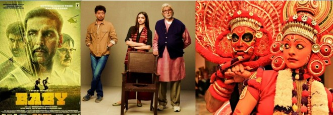 Piku, Baby and Uttama Villain
