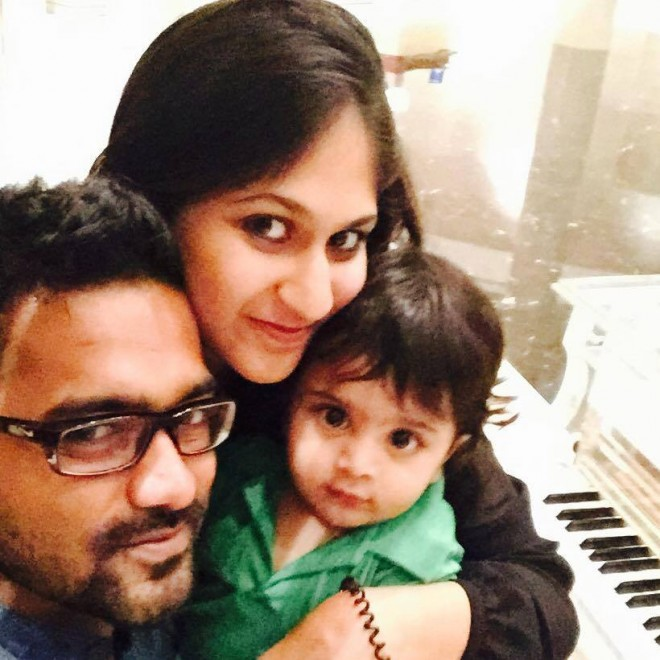 Actor Asif Ali Family Asif Ali With Family