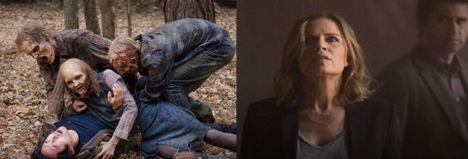 Still from The Walking Dead and Fear The Walking Dead