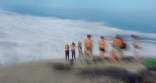 The image posted on Facebook shows a group of Western tourists stripping at the sacred  Mount Kinabalu has sparked outrage in Malaysia.