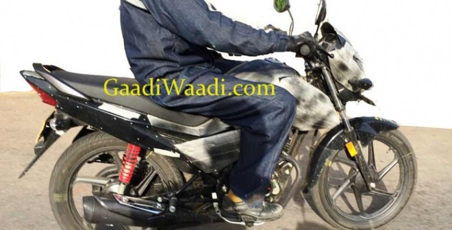 Honda Livo Commuter Motorcycle Spied