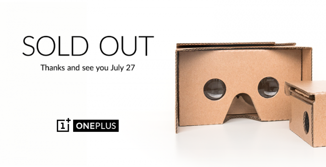 OnePlus Cardboard Giveaway: VR Headset Runs Out Of Stock; Best Alternatives, When and Where To Buy?