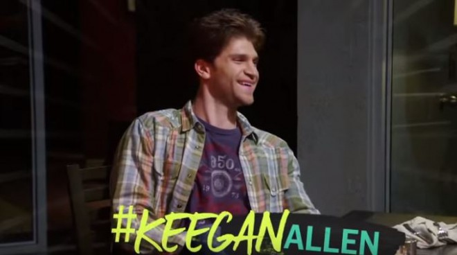 Keegan Allen on 'Young and Hungry'