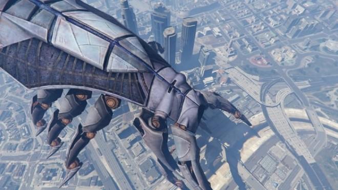 GTA 5's new Mass Effect mod