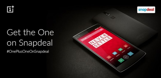 OnePlus One Now Available on Snapdeal in India