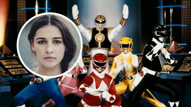 Naomi Scott to be Pink Ranger in 'Power Ranger' reboot