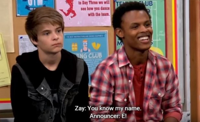 Farkle and Zay from 'Girl Meets World'
