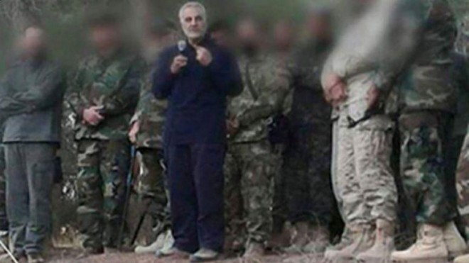 General Qassem Soleimani, the commander of the country's expeditionary al-Quds Force