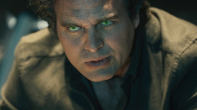 "Mark Ruffalo as Hulk / Bruce Banner in ""Avengers: Age of Ultron"""