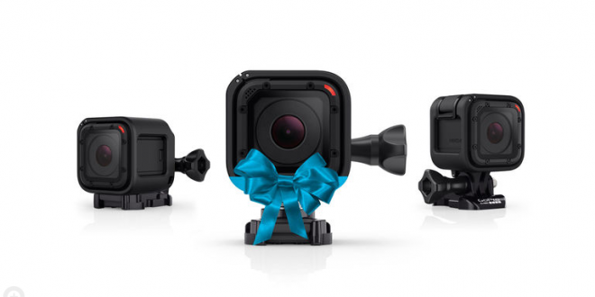GoPro brings Christmas sale early; Slashes Hero4 Session price by 50 percent