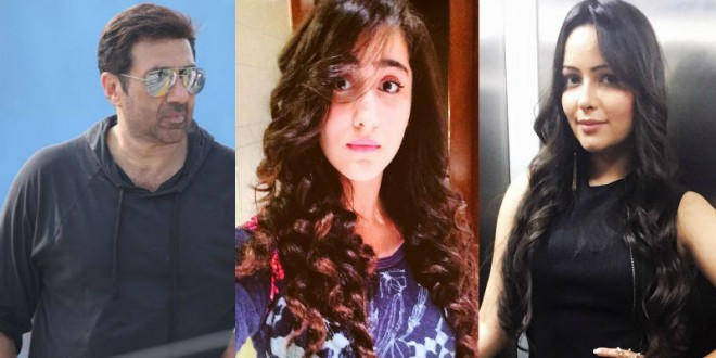 Sunny Deol, Diana Khan, Aanchal Munjal