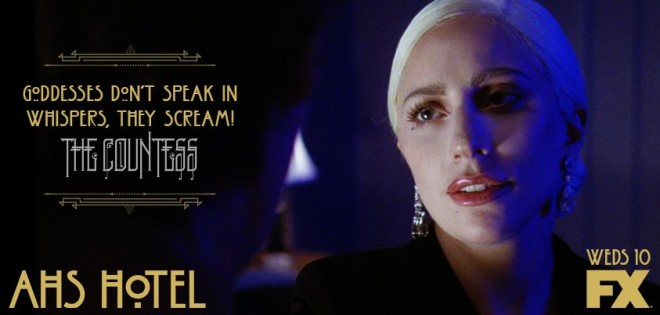 Lady Gaga as Elizabeth in AHS: Hotel