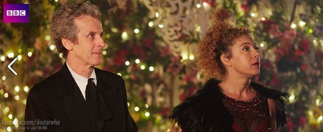 Doctor Who and RIver reunite for the Christmas Special episode
