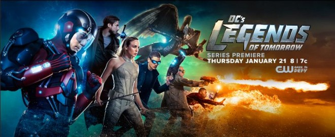 Legends of Tomorrow will premiere on The CW on 21 January