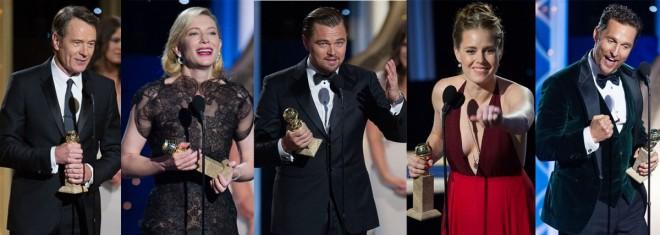 Golden Globes 2014 Winners