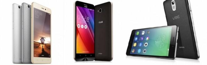 Xiaomi Redmi 3 vs Asus Zenfone Max vs Lenovo P1m: Which smartphone with marathon battery is the best?