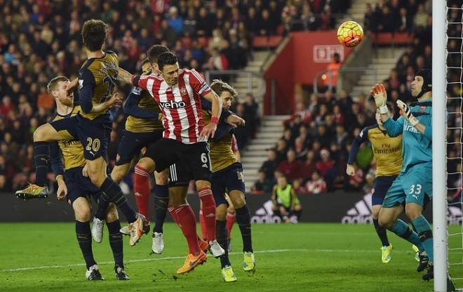 Fonte Southampton Arsenal