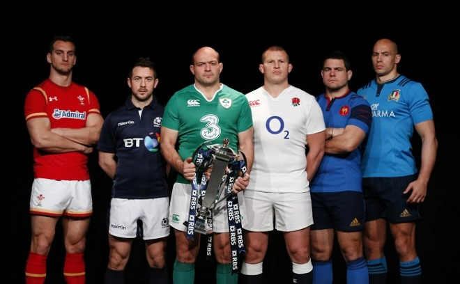 Six Nations 2016 captains trophy
