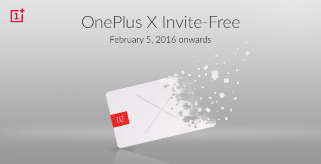 OnePlus X is now available without invites in India