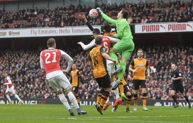 Arsenal Hull City Jakupovic