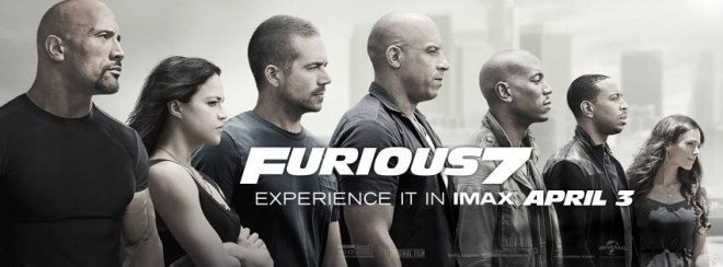 'Furious 7' was one of the highest grossing movies for IMAX China in 2015