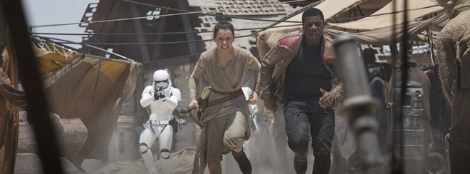 "The principal photography for ""Star Wars: Episode VIII"" has begun."
