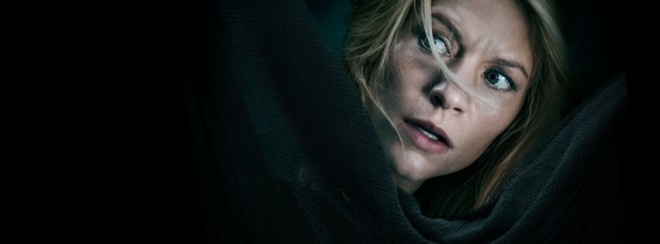 Claire Danes as Carrie Mathison in 'Homeland'