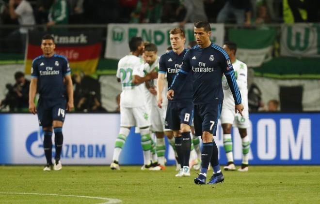 Cristiano Ronaldo Real Madrid Toni Kroos Casemiro Wolfsburg