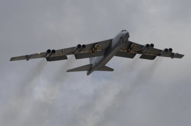 U.S. Air Force deploys B-52H bombers