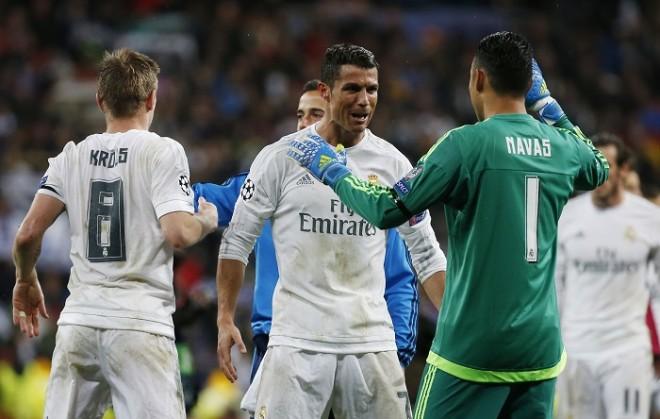 Cristiano Ronaldo Keylor Navas Real Madrid