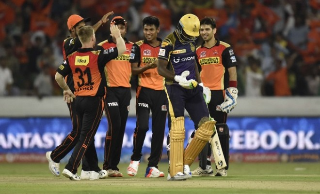 Sunrisers Hyderabad Andre Russell KKR