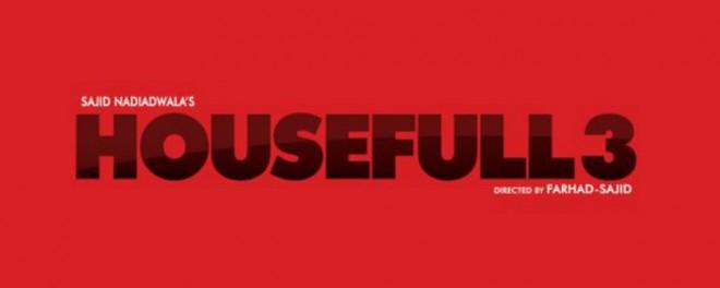 Housefull 3 logo