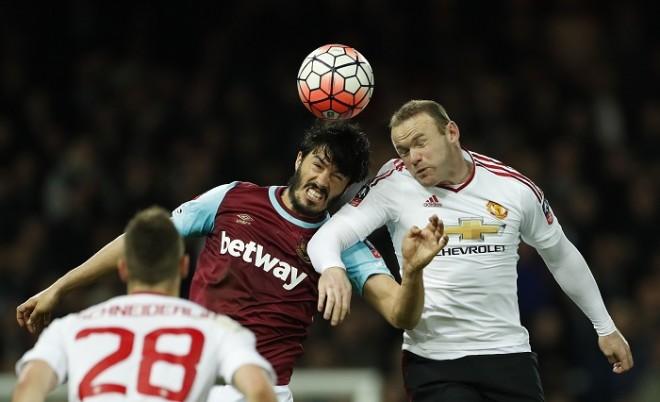 Tomkins West Ham Rooney Manchester United