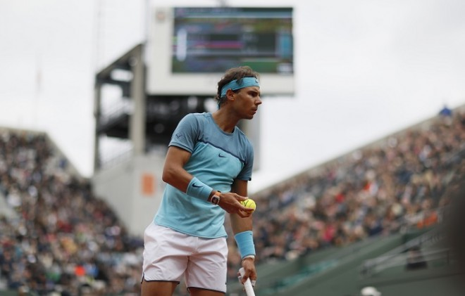 Rafael Nadal French Open 2016 first round