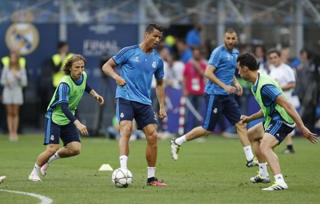 Cristiano Ronaldo Real Madrid Modric