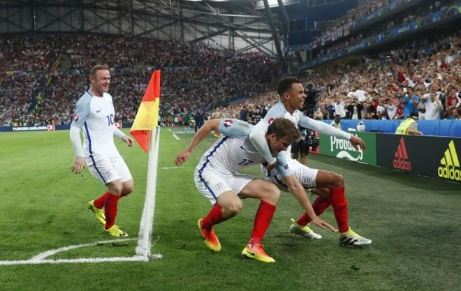 Wayne Rooney Eric Dier Dele Alli England