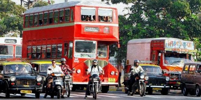 mumbai best undertaking transport taxi cab profit revenue iconic bus services city public
