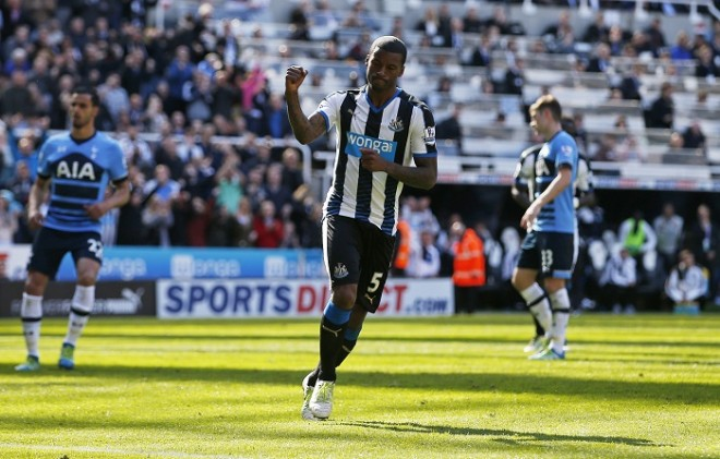 Georginio Wijnaldum Newcastle